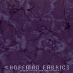 Hoffman Fabric 1895 34 Eggplant